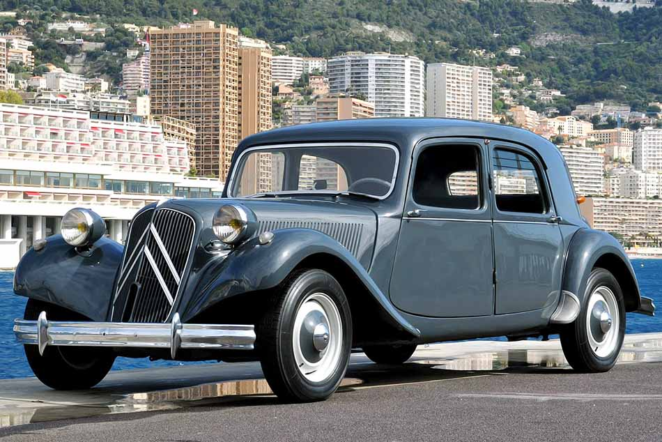 Citroen Traction Avant 1934-1957 – Frontvonal