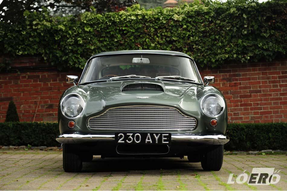 A hatvanas évek elején az Aston Martin DB4 GT partiban volt az olasz és német riválisokkal.