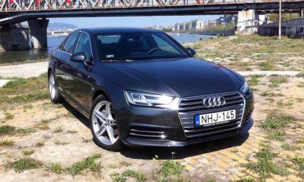 Audi A4 2.0 TDI S line teszt – Csúcsközelben az új Audi A4