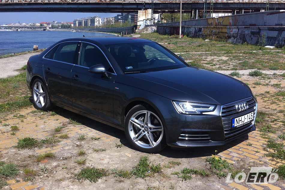Az Audinál zseniálisak abban, hogy mindig megalkotják a tökéletesnek hitt autót, aztán mégis tudnak javítani rajta. Az új Audi A4 is ilyennek tűnik.