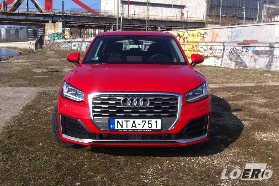 A kis Audi Q2 ára nem súlyos, 6.990.000 forintról indul.