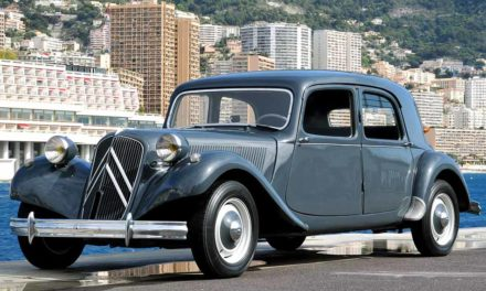 Citroen Traction Avant 1934-1957 – Frontvonal