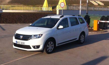 Dacia Logan MCV 1.5 dCi teszt – Kisebb lett és pofásabb