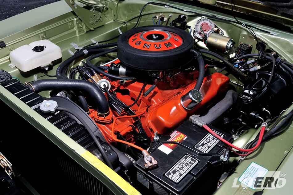 A Dodge Charger 1969-es motorválasztéka szinte kizárólag V8-as monstrumokból állt.