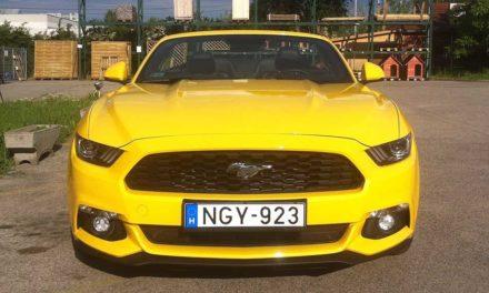 Ford Mustang teszt -Convertible 2.3 EcoBoost A6 – Hollywoodi filmcsillag