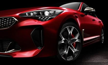 Kia Stinger – Érkezik az eddigi legerősebb Kia autó