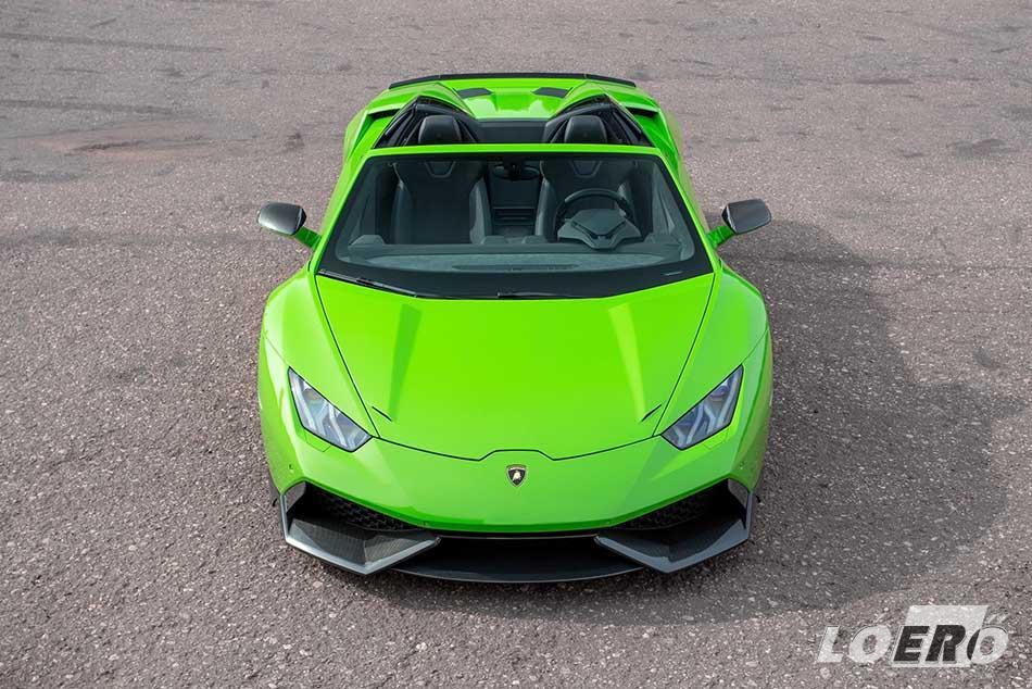 A Lamborghini Huracán LP610 4 első körben csak optikai tuningot kapott a Novitec kezei alatt