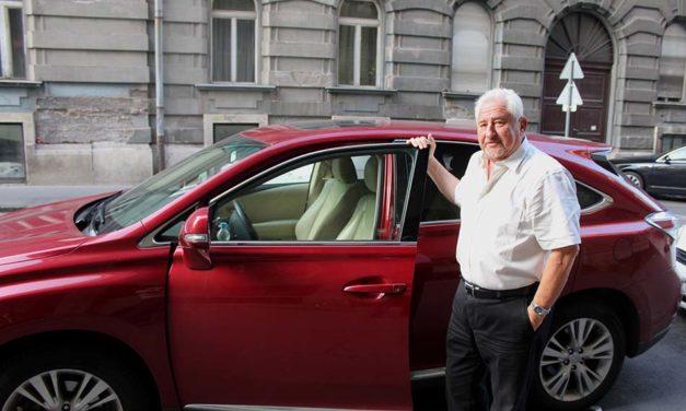 Nekem a Lexus tökéletesen elég – Magyar György ügyvéd