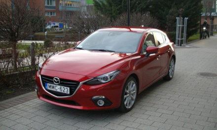 Mazda 3 Sport 2.0 G120 Challenge teszt – A japán Golf