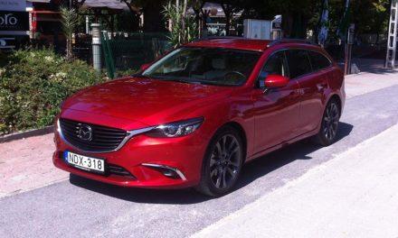 Mazda 6 Sportkombi teszt – Minimális sminkelés