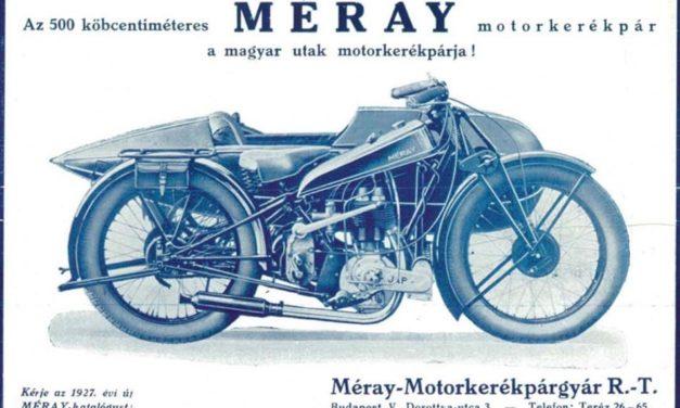 Méray motorkerékpár – A magyar motorgyártás bölcsője