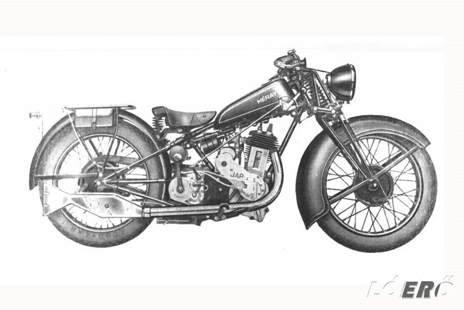 Már az első Méray motorkerékpár modellek is korukat megelőző újításokkal – pl. háromszögváz, külön olajtartály, dőlt henger – rendelkeztek.