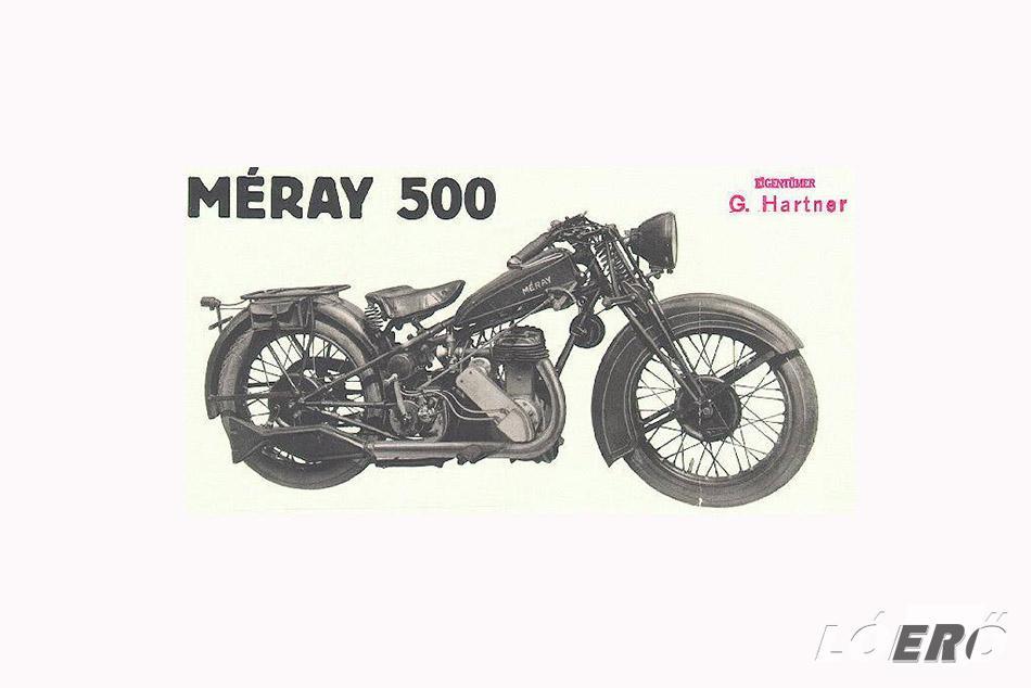 A Méray motorkerékpár változatai hamar népszerűek lettek, köszönhetően az ebben az időben egyre gyakrabban megrendezett versenyeknek.