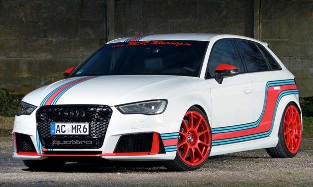 MR Audi RS 3 tuning – Felrázva, nem keverve