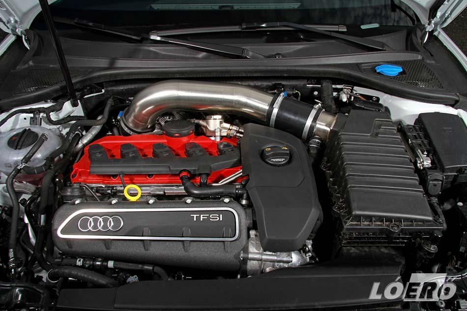 Az Év Motorja címmel kitüntetett győri erőforrásban bőven van tartalék, a fejlesztők szerint akár 535 lóerő és 700 Nm fölé is lehetne menni az Audi RS3 tuninggal