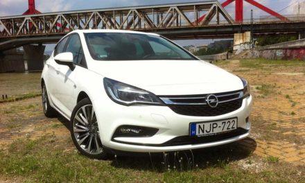 Opel Astra K 1.0 Turbo teszt – A megérdemelt győztes