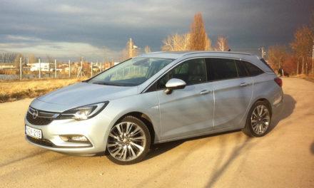 Opel Astra Sports Tourer 1.6 CDTi teszt – Egy okos választás