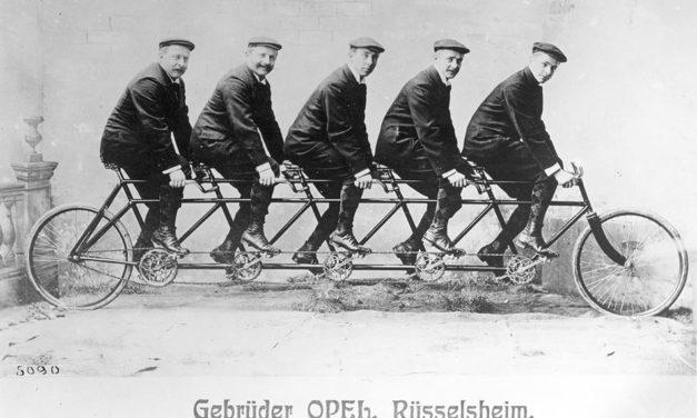 Opel kerékpár 130 éve