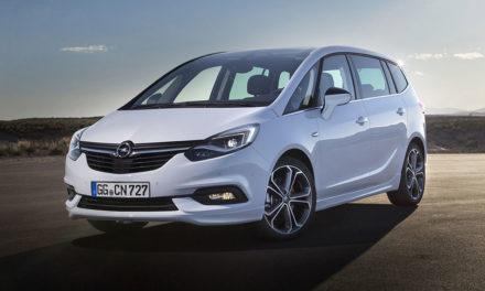 Opel Zafira 2016, az Opel úttörő hétülésese