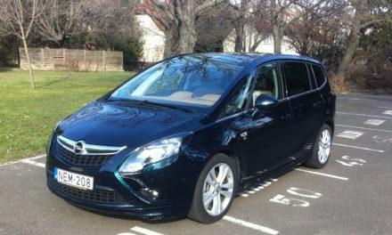 Opel Zafira Tourer 2.0 CDTi teszt – Lassan vénülő családtag