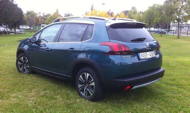 Peugeot 2008 1.2 PureTech Allure teszt – A férfivá válás útján