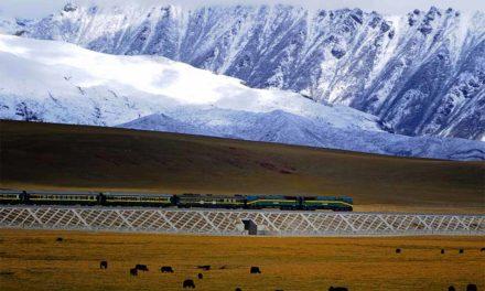 Qinghai Tibet vasútvonal – A világ legmagasabb vasútvonala