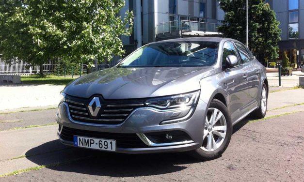 Renault Talisman 1.6 dCi teszt – Becélozták a németeket