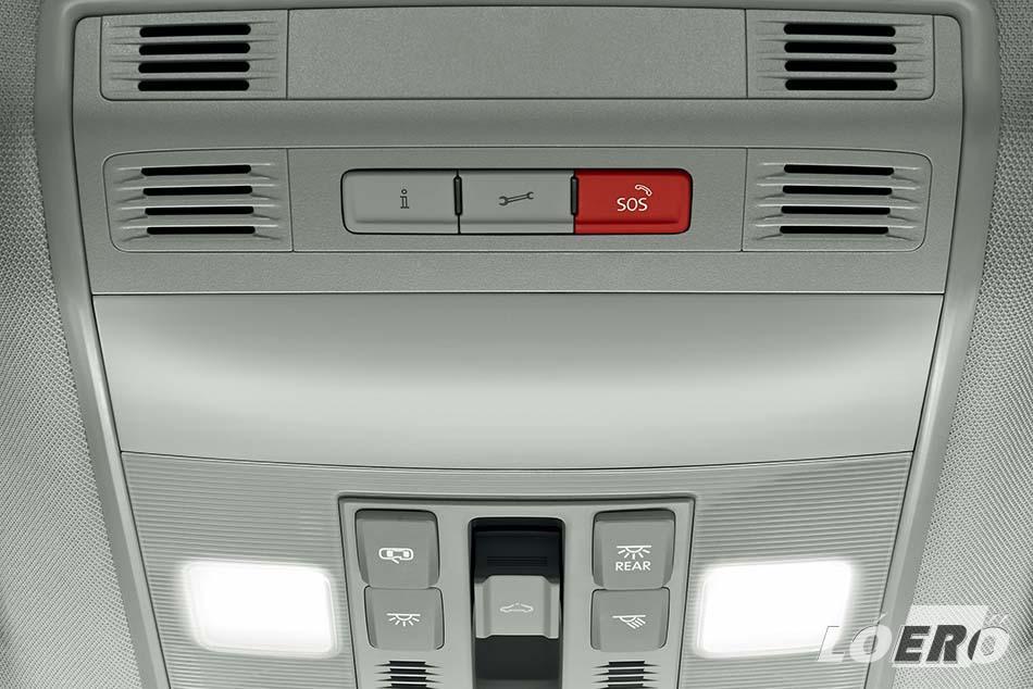 A Skoda Superb felszereltségek új szintjével elérhetővé vált az automatikus vészhívás is.