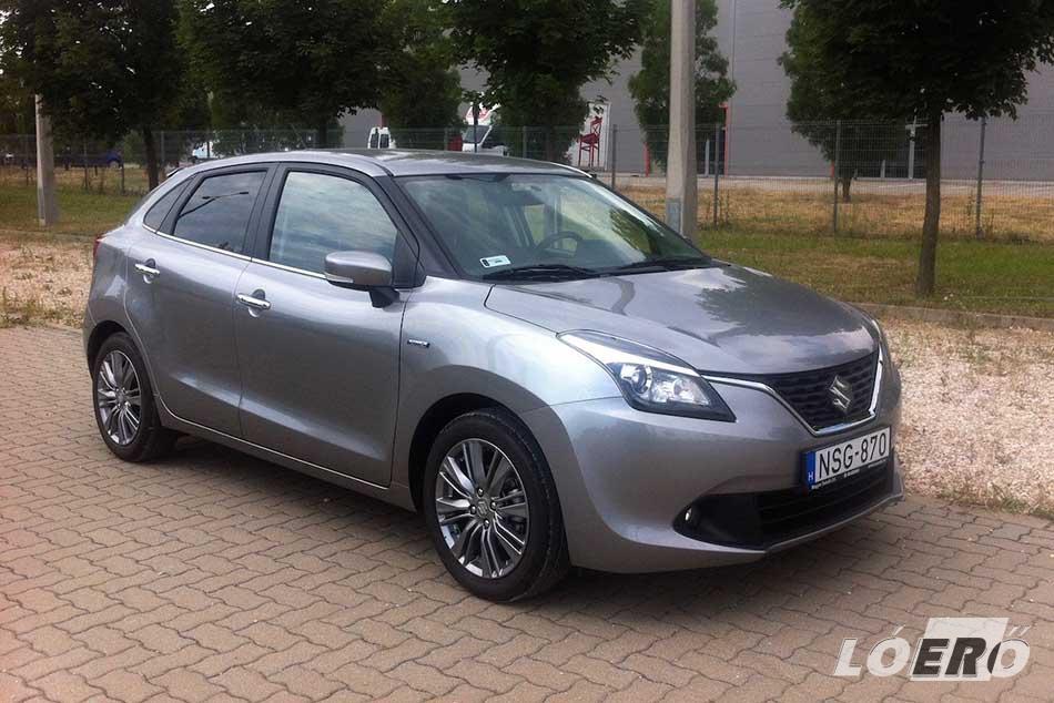 A Suzuki Baleno 1.2 GLX ISG nem olcsó, alsó hangon 5,38 millió forinttól vihető haza, a metál, gyöngyház fényezés felára pedig 95 ezer forint.
