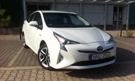 Toyota Prius fogyasztás a mennyországban – teszteltük a hibridet