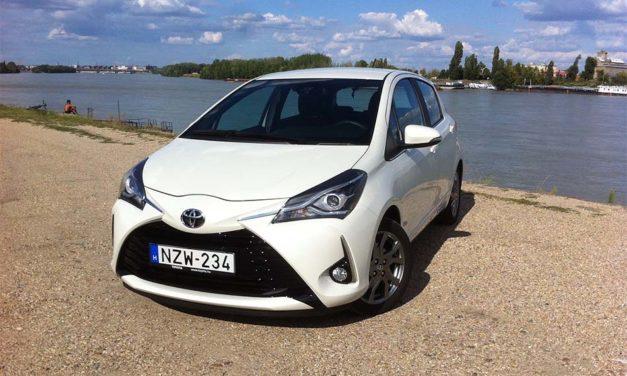 Toyota Yaris facelift 2017 – Alig látható újratervezés