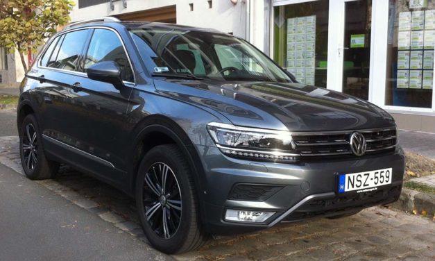 A nagyágyúk becélozva – Volkswagen Tiguan teszt