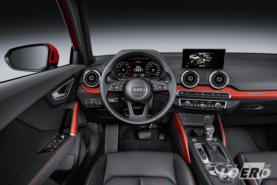 Az új Audi Q2 infotainment rendszerei mellett természetesen további csúcskategóriás vezetést segítő és biztonsági megoldásokat kínál már akár alap felszerelésként is.
