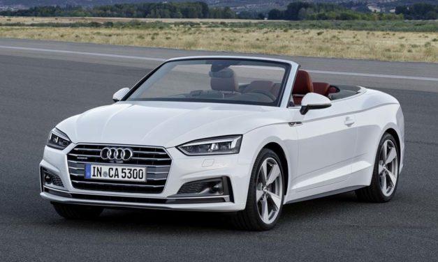 Érkezik az Audi A5 Cabrio márciusban