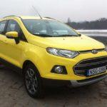 Ford EcoSport 1.0 EcoBoost Titanium – Egy fura fazon