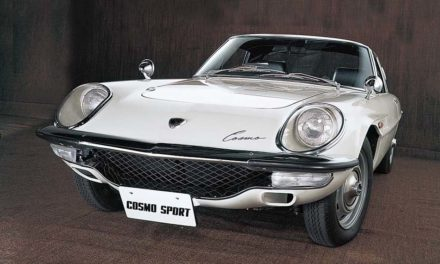 Mazda Cosmo Sport 1967 – A Wankel-motoros sportmodell