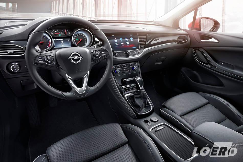 Az új Opel Astra CNG felszereltségek tekintetében tudja majd mindazon opcionális lehetőségeket, mint az összes többi Astra modell.