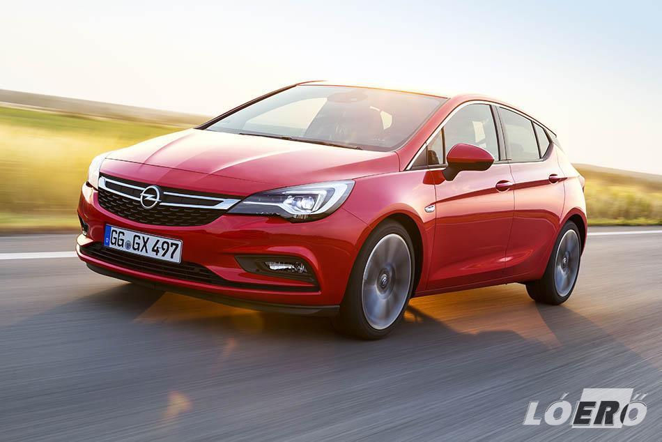 Az Opel Astra végre behozza az adaptív IntelliLux LED mátrixvilágítást is kompakt osztályba.