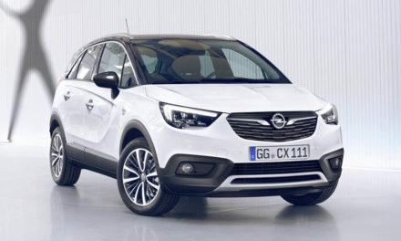 Új Opel crossover a láthatáron – Opel Crossland X 2017
