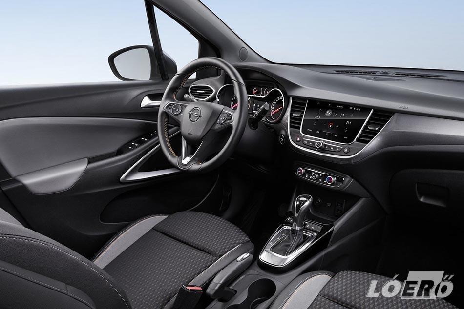 A nyugodt és biztonságos autózást sokféle, korszerű opcionális technika és asszisztenciarendszer szolgálja az új Opel crossover fedélzetén.