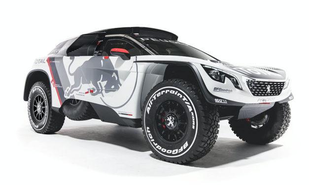 Kész az új Peugeot 3008 DKR