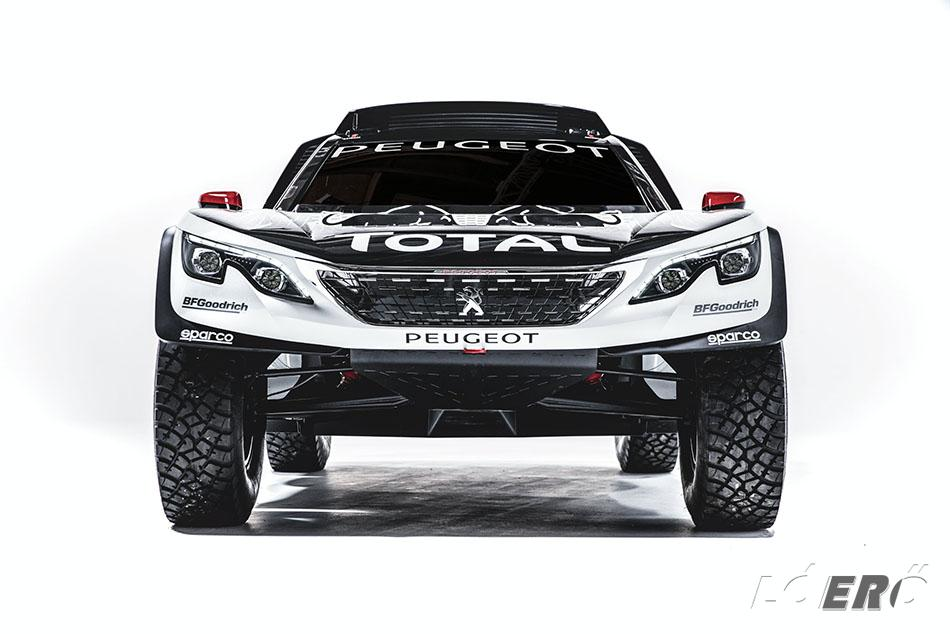 A 2017-es Peugeot 3008 DKR felépítésén több helyen is változtattak a a Peugeot Sport munkatársai.
