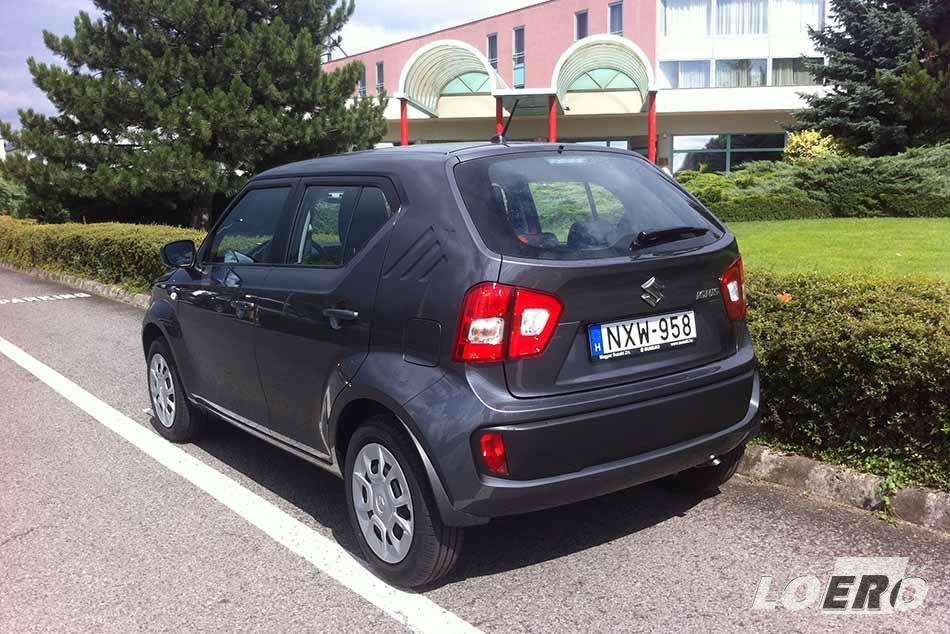 A Suzuki Ignis 1.2 Dualjet fogyasztás mindössze 4,6 liter volt, ami már-már a hibridek takarékosságával vetekszik.