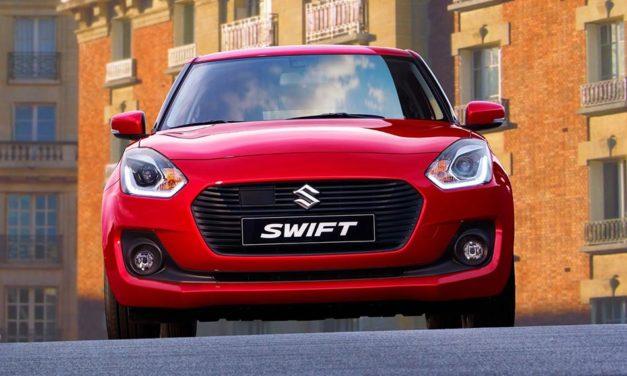 Itt az új Suzuki Swift