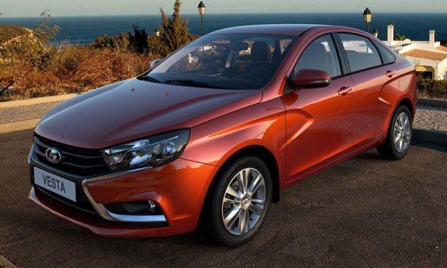 Az új Lada Vesta ára 3 millió alatt