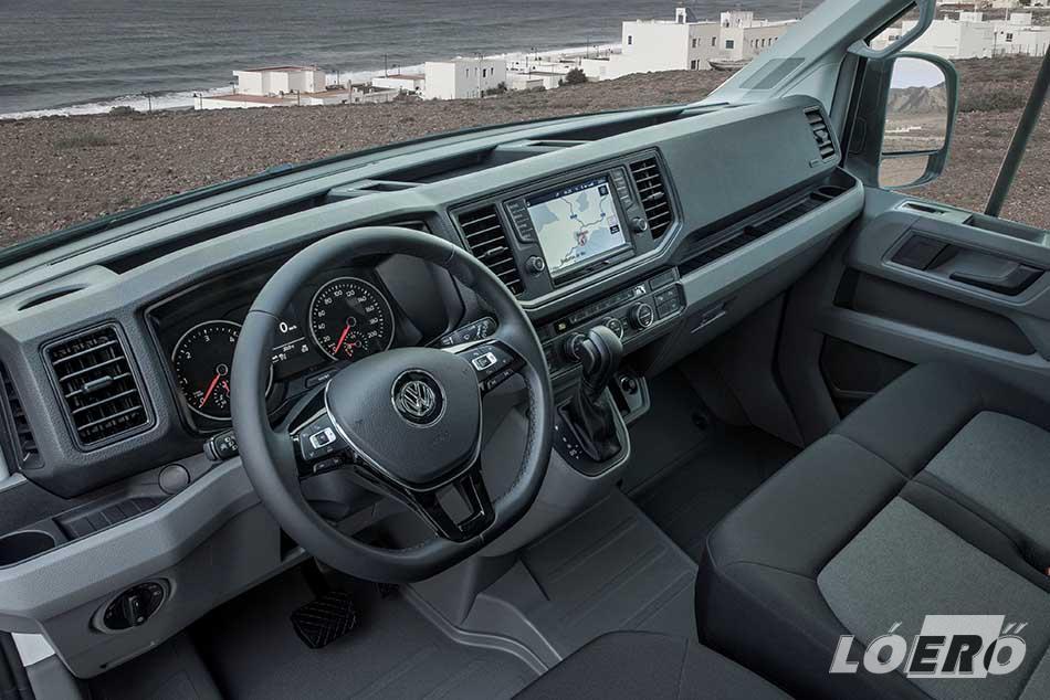 A legjobb ár-érték arány eléréséhez az egyéni igényeinkhez kialakított új Volkswagen Crafter, számunkra legoptimálisabb összeállítását választhatjuk.