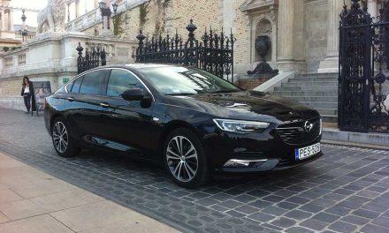 Opel Insignia teszt – Grand Sport 1.5 Turbo