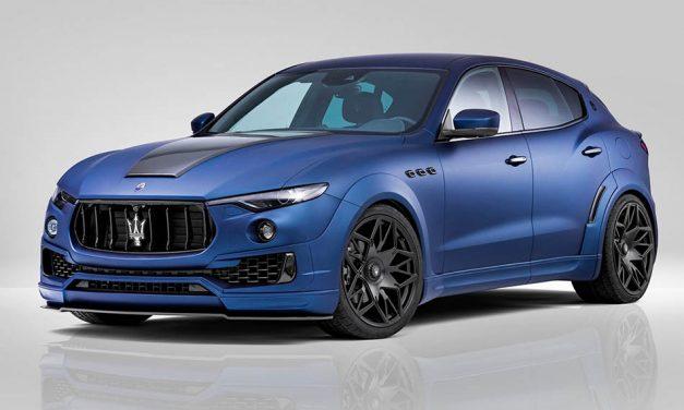Maserati Levante tuning – Esteso a Novitectől