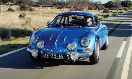 Alpine A110 – Kék villám