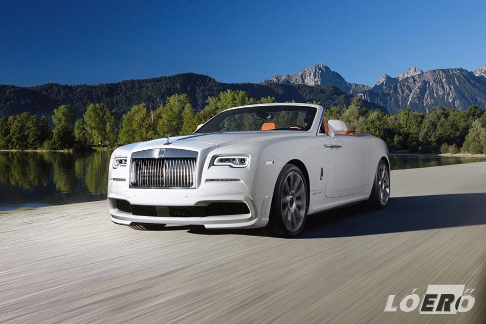 Az átalakított Rolls-Royce Dawn esetében nehéz belekötni bármibe is.